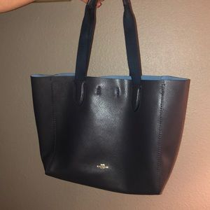 Navy Coach Purse